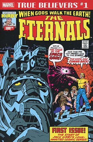 True Believers Jack Kirby 100th Anniversary Eternals #1