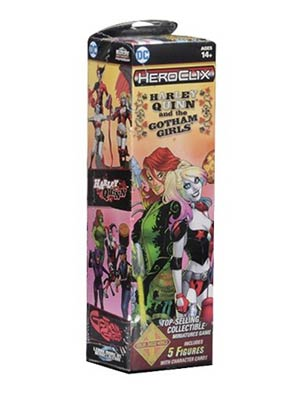 DC HeroClix Harley Quinn And The Gotham Girls Booster Pack