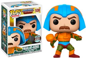 POP Television 538 Masters Of The Universe Man At Arms Vinyl Figure