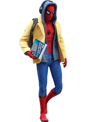 Spider-Man Homecoming Deluxe Movie Masterpiece 11.5-Inch Action Figure