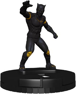 Marvel HeroClix Avengers Defenders War #101 Black Panther The Man Without Fear Mini Figure With Card