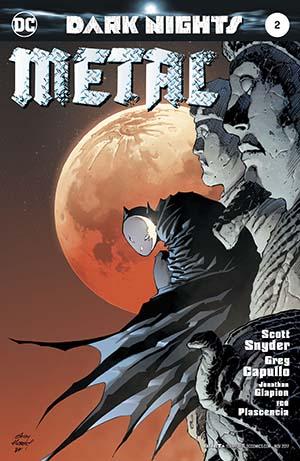Dark Nights Metal #2 Cover B Variant Andy Kubert Cover
