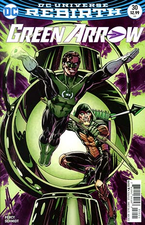 Green Arrow Vol 7 #30 Cover B Variant Mike Grell Cover
