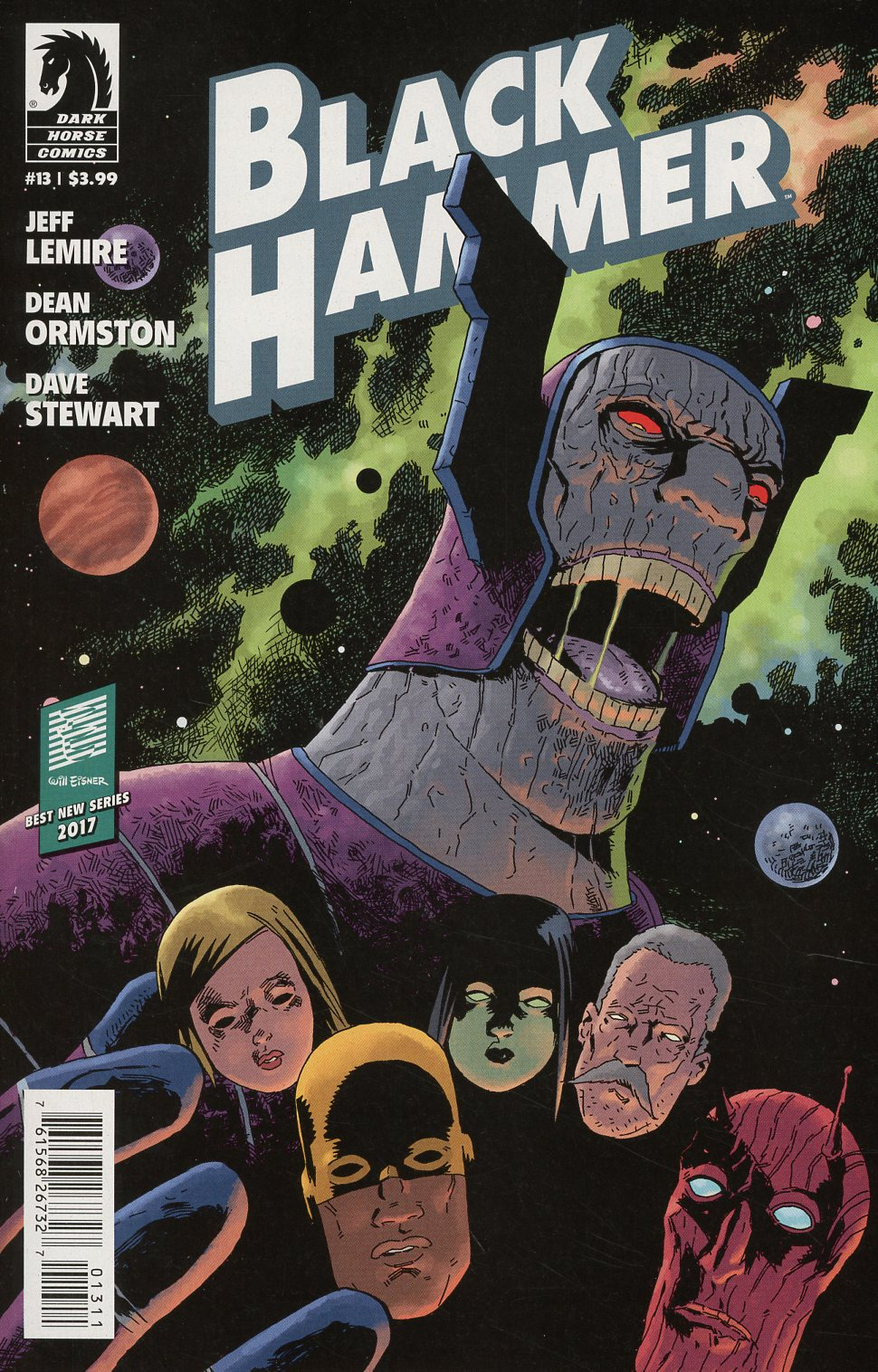 Black Hammer #13 Cover A Regular Dean Ormston Cover