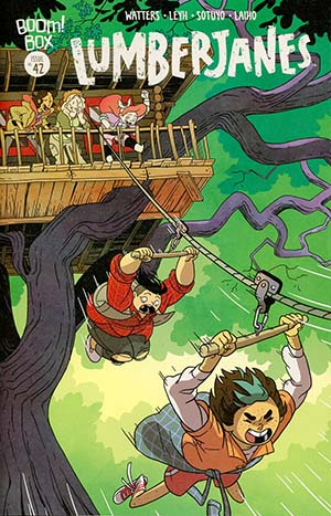 Lumberjanes #42 Cover A Regular Kat Leyh Cover