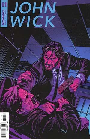John Wick #1 Cover A Regular Giovanni Valletta Cover