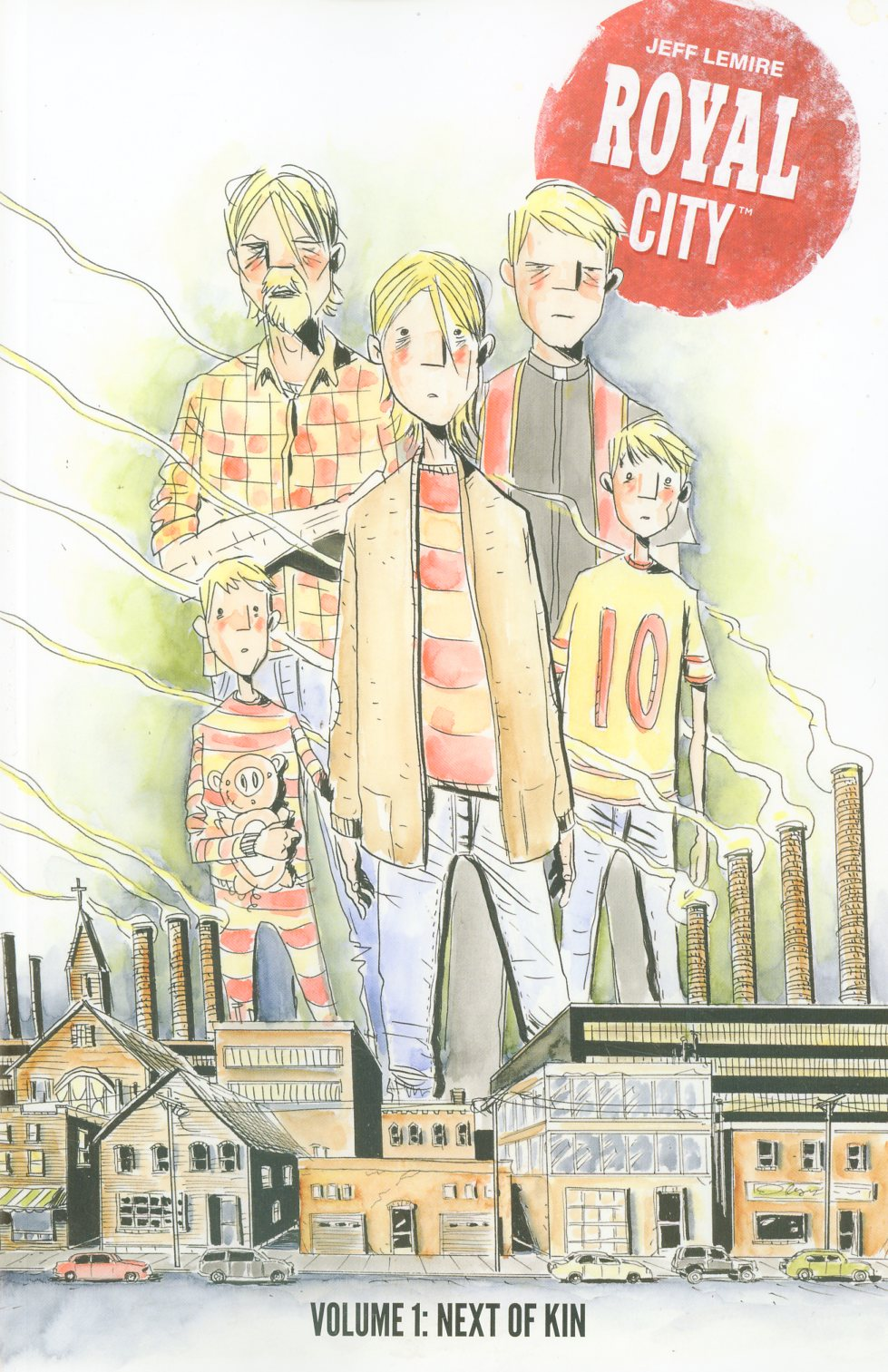 Royal City Vol 1 Next Of Kin TP