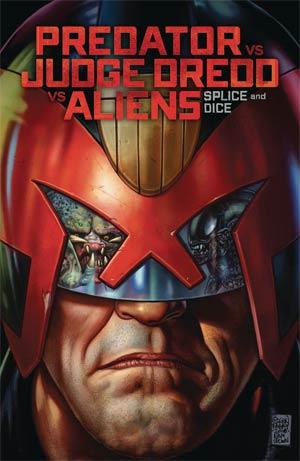 Predator vs Judge Dredd vs Aliens Splice And Dice TP
