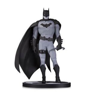 Batman Black & White Series Original Mini Statue By John Romita Jr