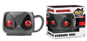 POP Home Marvel Gray Deadpool Ceramic Mug