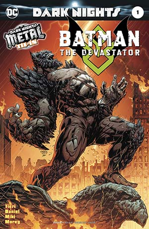 Batman The Devastator #1 Cover A 1st Ptg Foil-Stamped Cover (Dark Nights Metal Tie-In)