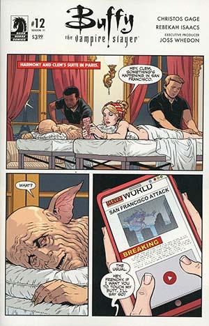Buffy The Vampire Slayer Season 11 #12 Cover B Variant Rebekah Isaacs Cover