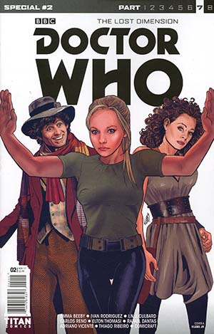 Doctor Who Lost Dimension Special #2 Cover A Regular Klebs Jr Cover (The Lost Dimension Part 7)