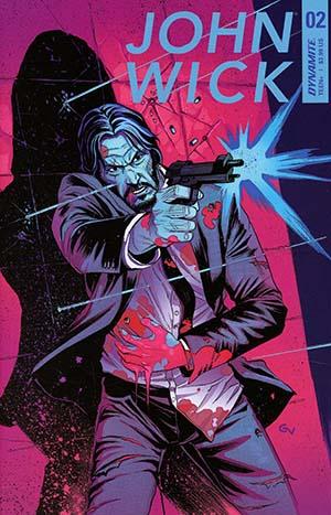 John Wick #2 Cover A Regular Giovanni Valletta Cover