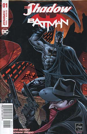 Shadow Batman #1 Cover Q Variant Ethan Van Sciver Cover Signed By Ethan Van Sciver