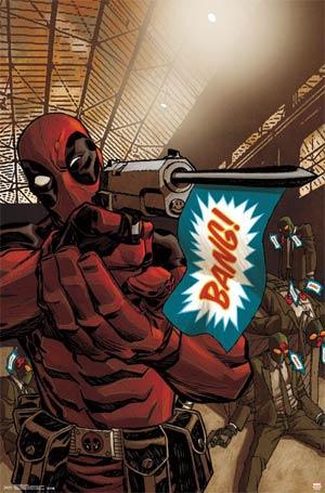 Deadpool Bang Poster