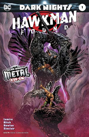 Hawkman Found #1 Cover A Regular Liam Sharp Foil-Stamped Cover (Dark Nights Metal Tie-In)