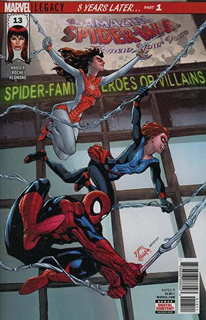 Amazing Spider-Man Renew Your Vows Vol 2 #13 Cover A Regular Ryan Stegman Cover (Marvel Legacy Tie-In)