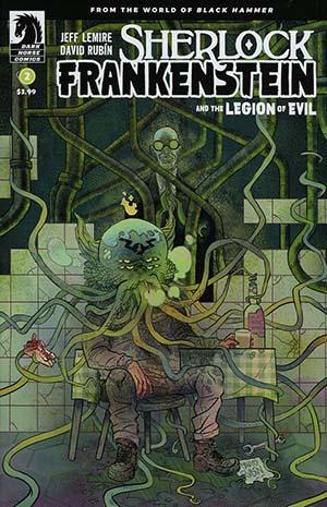Sherlock Frankenstein And The Legion Of Evil #2 Cover A Regular David Rubin Cover