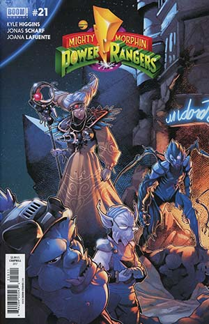 Mighty Morphin Power Rangers (BOOM Studios) #21 Cover A Regular Jamal Campbell Cover