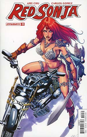 Red Sonja Vol 7 #11 Cover C Variant Marco Santucci Cover