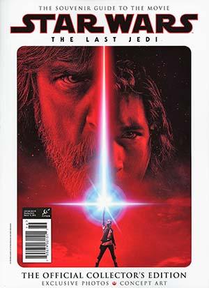 Star Wars Episode VIII The Last Jedi Movie Official Collectors Magazine Newsstand Edition