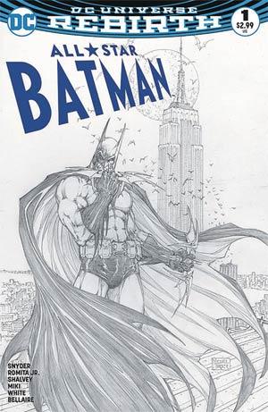 All-Star Batman #1 Cover S Variant Michael Turner & Peter Steigerwald Aspen Comics Color & Sketch Cover Set