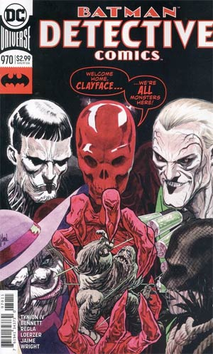 Detective Comics Vol 2 #970 Cover A Regular Guillem March Cover