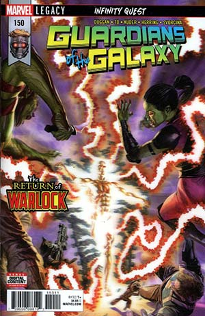 Guardians Of The Galaxy Vol 4 #150 Cover A Regular Alex Ross 3D Lenticular Cover (Marvel Legacy Tie-In)