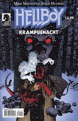 Hellboy Krampusnacht #1 Cover A Regular Adam Hughes Cover