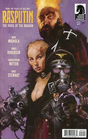 Rasputin Voice Of The Dragon #2 Cover B Variant Greg Manchess Cover
