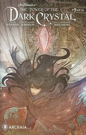 Jim Hensons Power Of The Dark Crystal #9 Cover B Variant Sana Takeda Subscription Cover