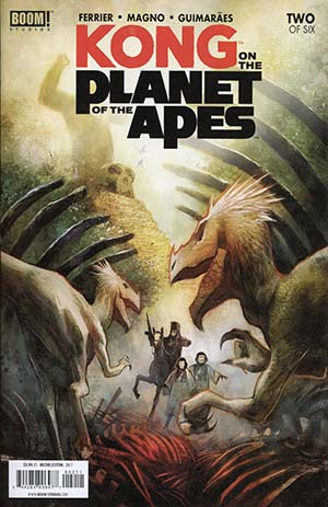 Kong On The Planet Of The Apes #2 Cover A Regular Mike Huddleston Cover