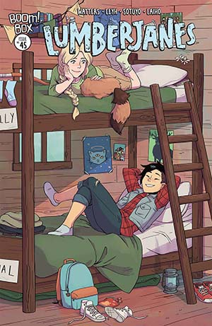 Lumberjanes #45 Cover B Variant Michelle Wong Subscription Cover