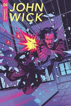 John Wick #4 Cover A Regular Giovanni Valletta Cover