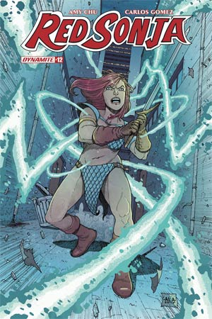 Red Sonja Vol 7 #12 Cover E Variant Andre Lima Araujo Subscription Cover