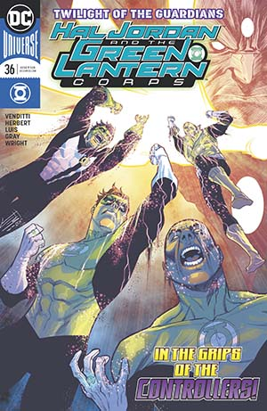 Hal Jordan And The Green Lantern Corps #36 Cover A Regular Francis Manapul Cover