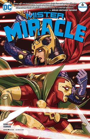 Mister Miracle Vol 4 #6 Cover A Regular Nick Derington Cover