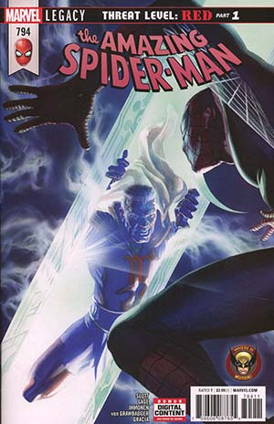 Amazing Spider-Man Vol 4 #794 Cover A 1st Ptg Regular Alex Ross Cover (Marvel Legacy Tie-In)
