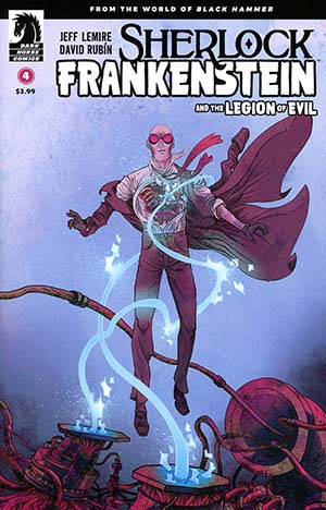 Sherlock Frankenstein And The Legion Of Evil #4 Cover A Regular David Rubin Cover