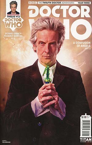 Doctor Who 12th Doctor Year Three #12 Cover B Variant Photo Cover