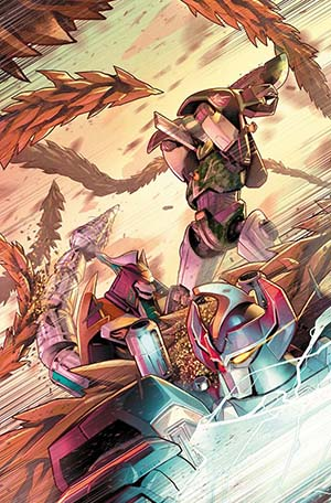 Mighty Morphin Power Rangers (BOOM Studios) #23 Cover A Regular Jamal Campbell Cover