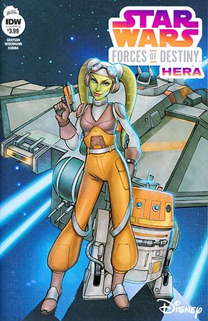 Star Wars Adventures Forces Of Destiny Hera Cover A Regular Eva Widermann Cover