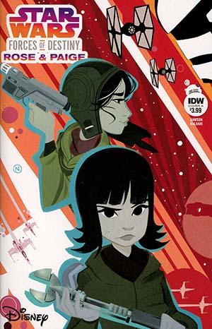Star Wars Adventures Forces Of Destiny Rose & Paige Cover A Regular Nicoletta Baldari Cover