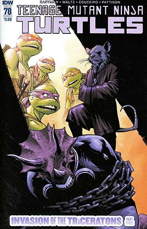 Teenage Mutant Ninja Turtles Vol 5 #78 Cover A Regular Damian Couceiro Cover