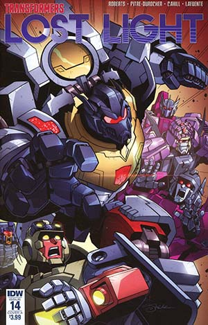 Transformers Lost Light #14 Cover A Regular Jack Lawrence Cover