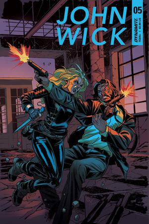 John Wick #5 Cover A Regular Giovanni Valletta Cover