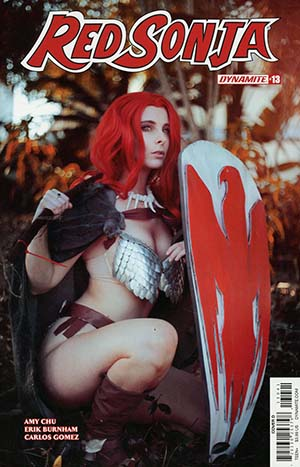 Red Sonja Vol 7 #13 Cover D Variant Cosplay Photo Cover