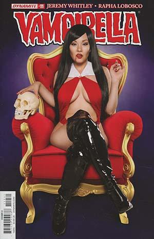 Vampirella Vol 7 #11 Cover C Variant Cosplay Photo Cover