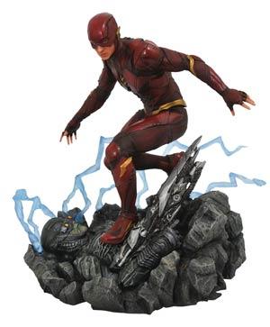 DC Gallery Justice League Movie PVC Diorama Figure - Flash